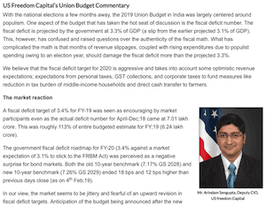US Freedom Capitals union Budget commentary